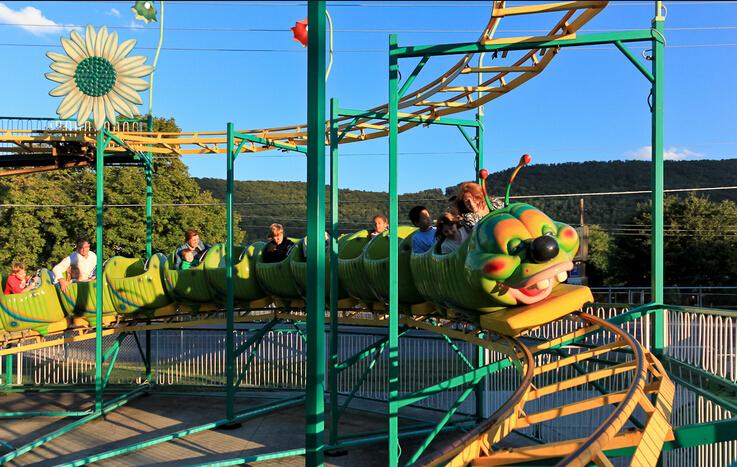 popular amusement park Kids Roller Coaster