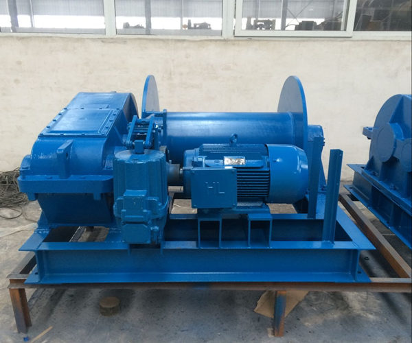 240v electric winch machine in 5 ton lifting capacity for sale