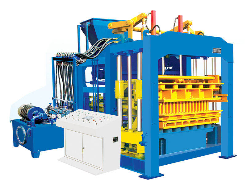 QT12-15 hollow block making machine