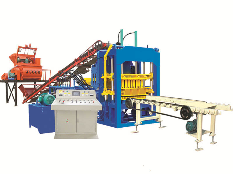 QT4-15D hollow bricks machine