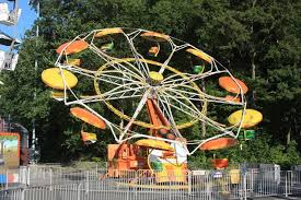 amusement park parachute rides