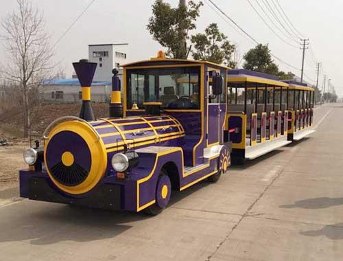 Vintage Trackless Trains