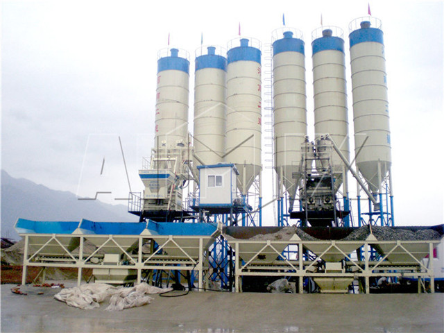 Concrete Mixing Plant in China