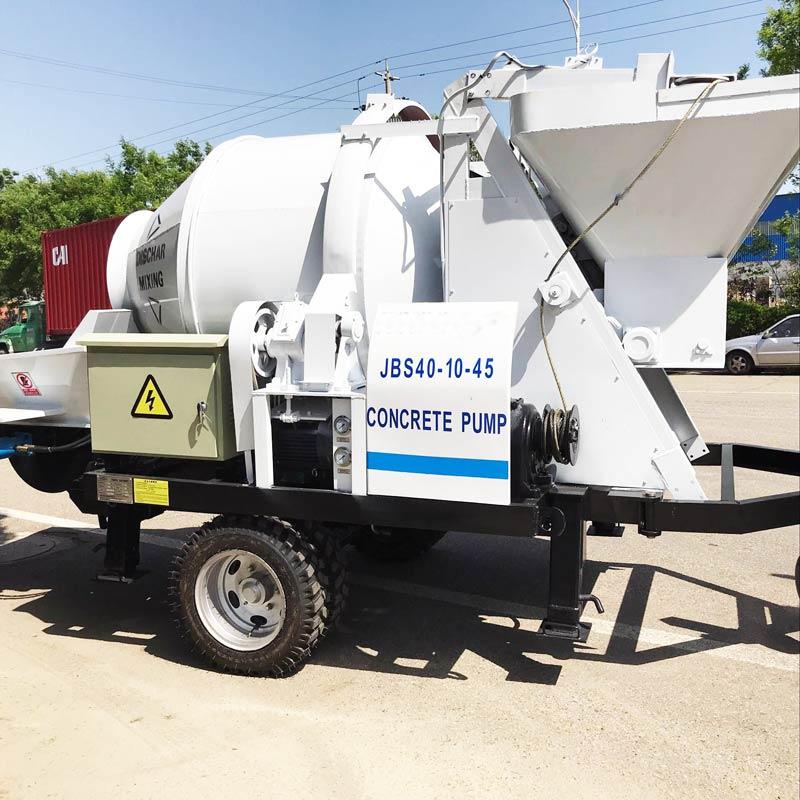 concrete pump mixer for sale