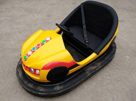 Kiddie Yellow Bumper Cars for Funfair