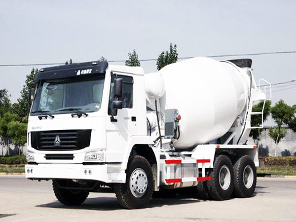 8 m³  construction mixer truck